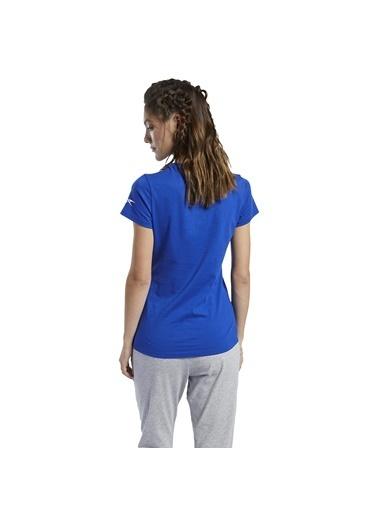 Reebok Workout Comm Kadın Mavi Günlük Tişört Fq6640 Mavi